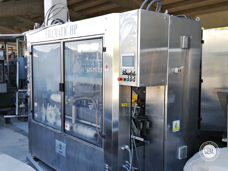 Used Isobaric Filling Machine MBF Fillmatic HP 45 valves 7000 bph - 2