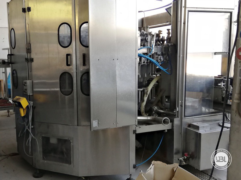 Used Isobaric Filling Machine MBF Fillmatic HP 45 valves 7000 bph - 3
