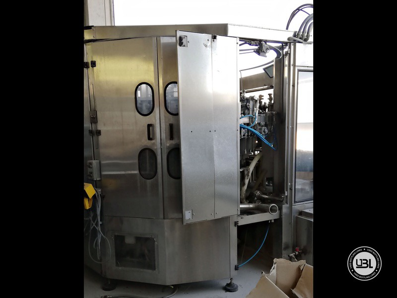 Used Isobaric Filling Machine MBF Fillmatic HP 45 valves 7000 bph - 4