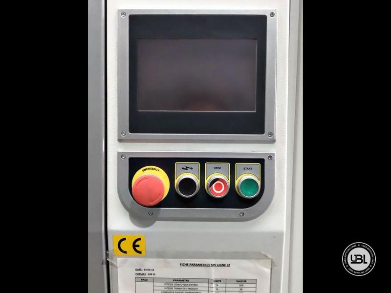 Aplicadora de Envoltura Retráctil usada Smipack BP802ALX 600R – 25 pacchi minuto – linea singola - 10