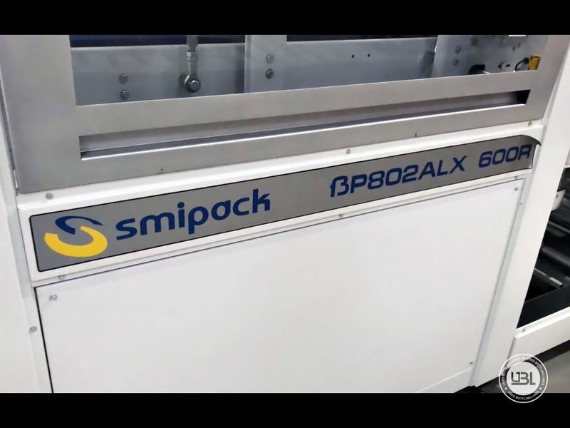 Aplicadora de Envoltura Retráctil usada Smipack BP802ALX 600R – 25 pacchi minuto – linea singola - 2