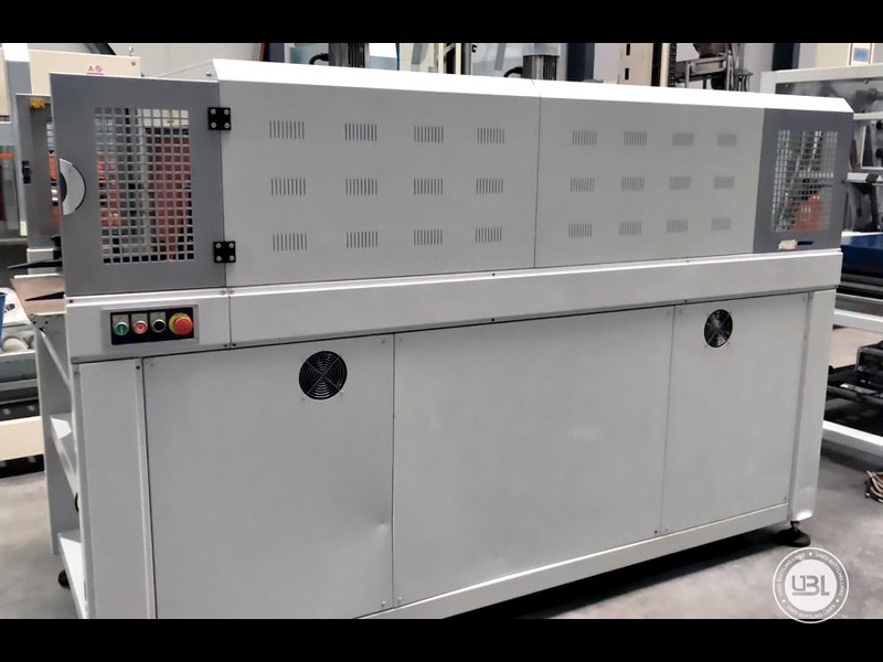 Aplicadora de Envoltura Retráctil usada Smipack BP802ALX 600R – 25 pacchi minuto – linea singola - 7