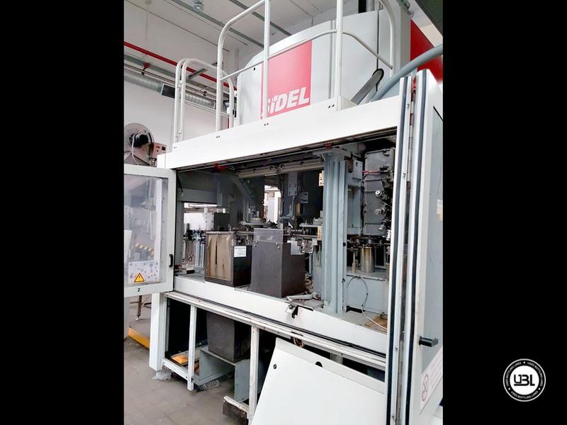 Soffiatrice rotativa usata per preforme in PET Sidel SBO 6 Serie 2 – 6 cavità 8000 bph anno 2002 - 11
