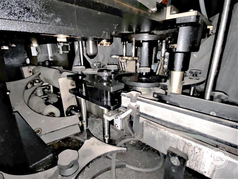 Used Wirehooder Robino & Galandrino Rekord T5 5 heads 6000 bph - 6