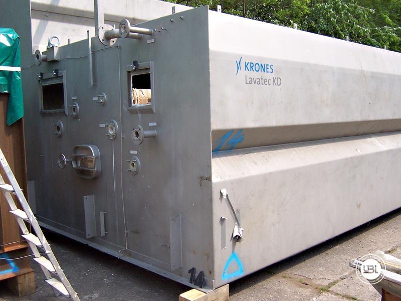 Used Bottle Washing Machine Krones Lavatec KD 2-88-500/58-80 5,2 up to 100.000 bph year 2001 - 3
