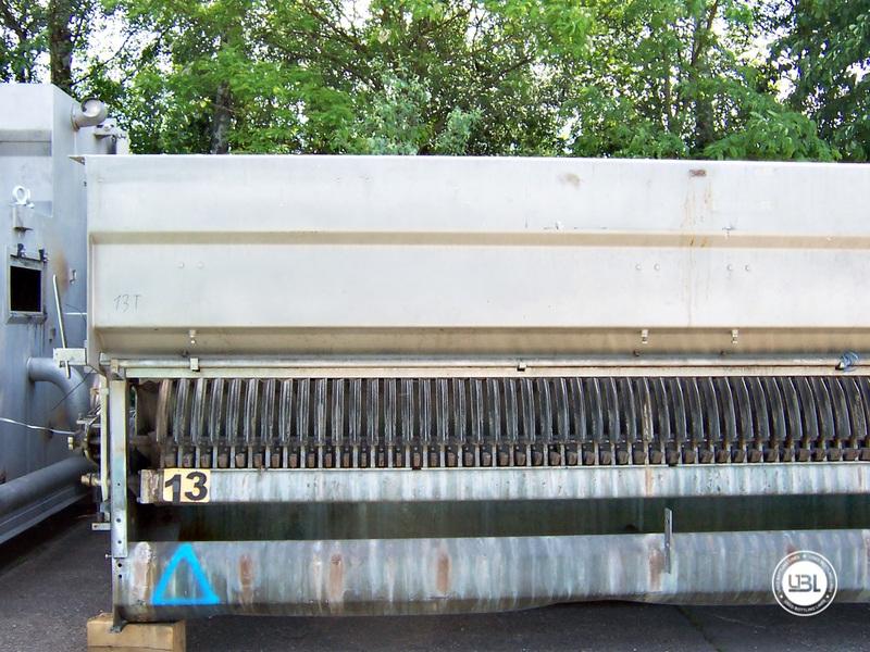 Used Bottle Washing Machine Krones Lavatec KD 2-88-500/58-80 5,2 up to 100.000 bph year 2001 - 5