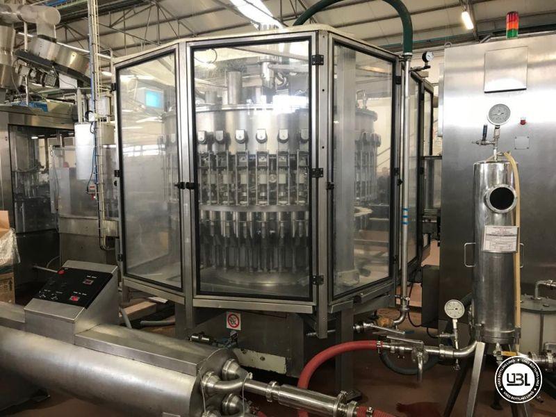 Riempitrice usata leggera depressione Bertolaso Ambra 40 valvole vino fermo 8000 bph - 2