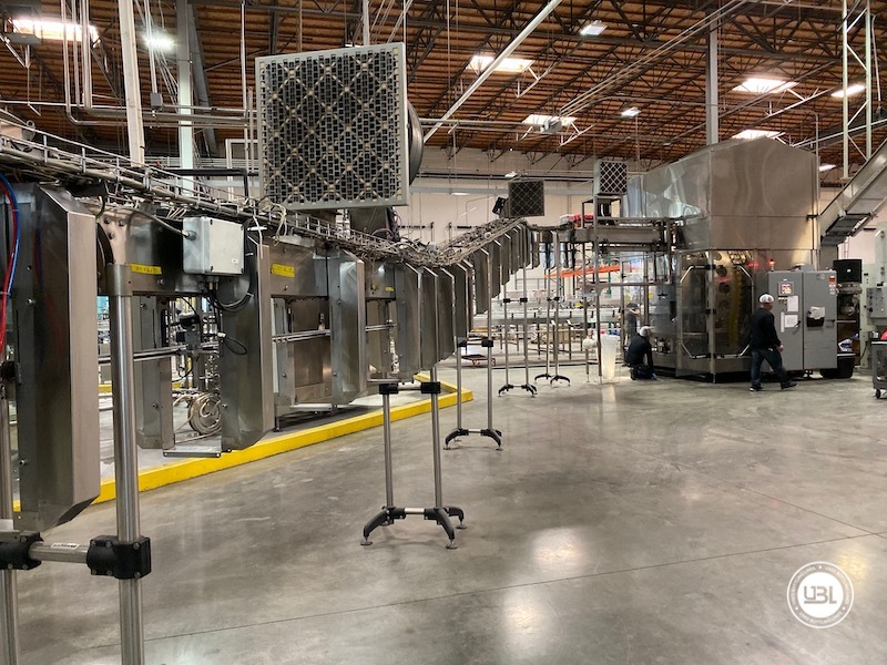 Used Sidel Complete Bottling Line for Carbonated Soft Drinks 36.000 bph - 10