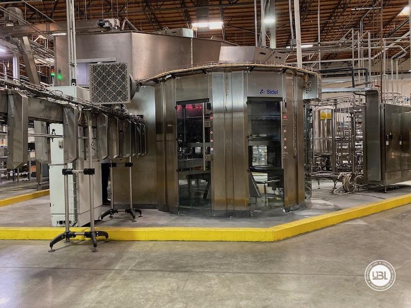 Used Sidel Complete Bottling Line for Carbonated Soft Drinks 36.000 bph - 12