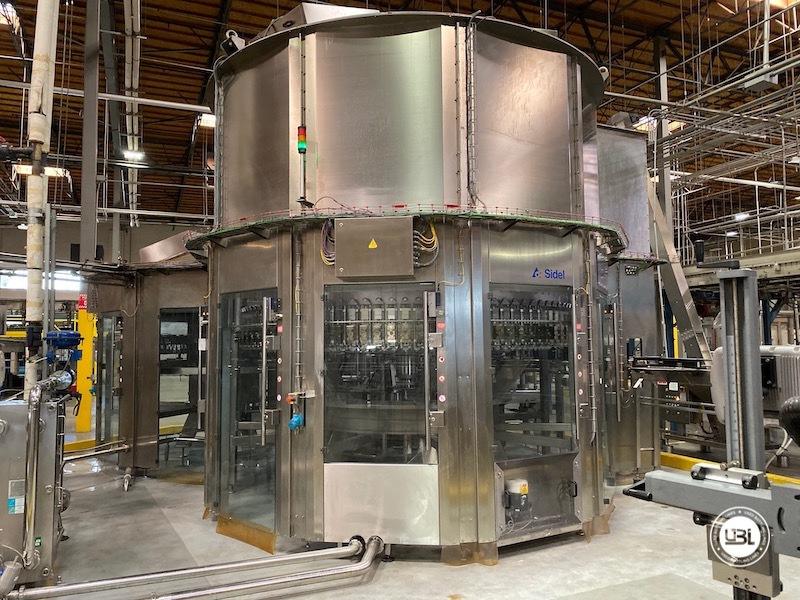 Used Sidel Complete Bottling Line for Carbonated Soft Drinks 36.000 bph - 13