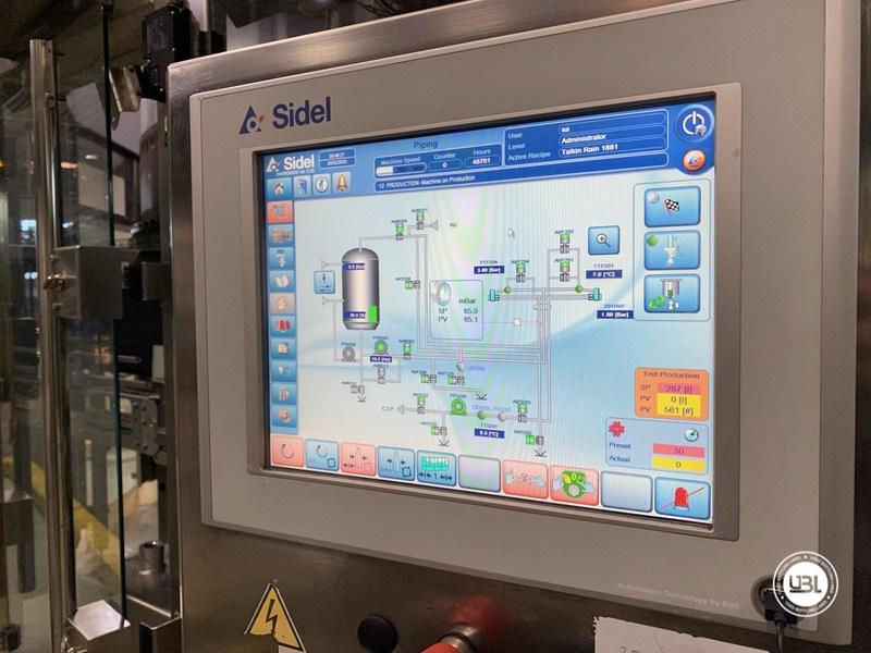 Used Sidel Complete Bottling Line for Carbonated Soft Drinks 36.000 bph - 17