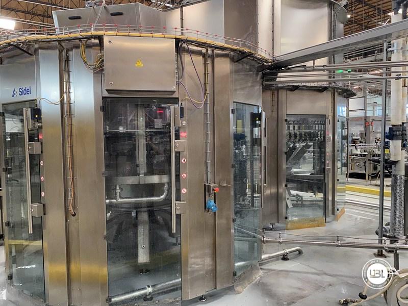 Used Sidel Complete Bottling Line for Carbonated Soft Drinks 36.000 bph - 19