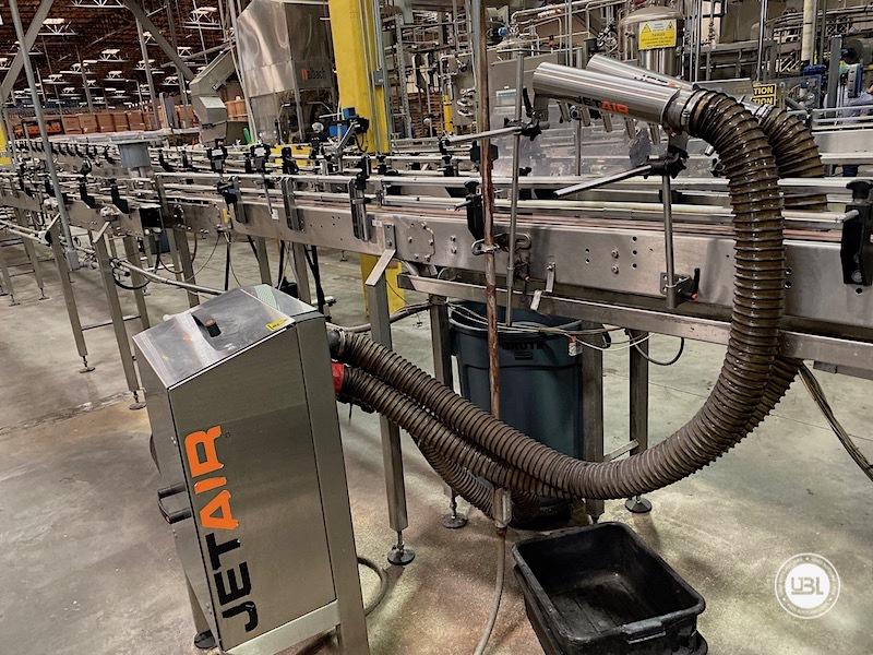 Used Sidel Complete Bottling Line for Carbonated Soft Drinks 36.000 bph - 24