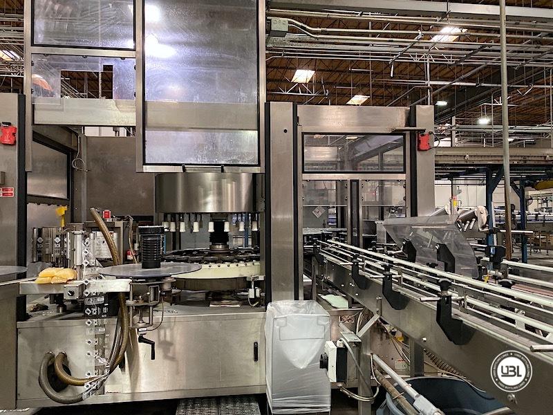 Used Sidel Complete Bottling Line for Carbonated Soft Drinks 36.000 bph - 27