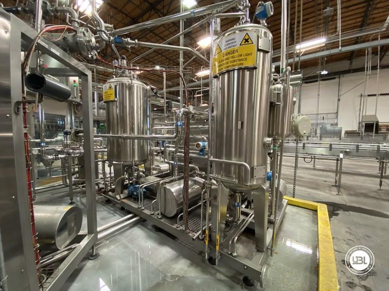 Used Sidel Complete Bottling Line for Carbonated Soft Drinks 36.000 bph - 5