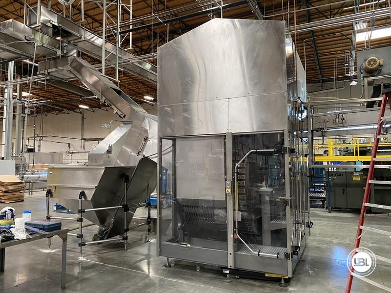 Used Sidel Complete Bottling Line for Carbonated Soft Drinks 36.000 bph - 8