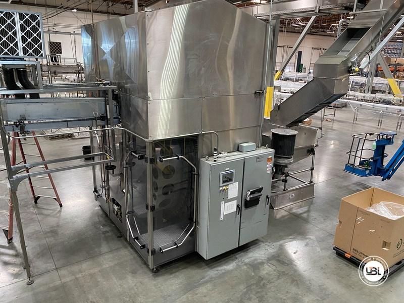 Used Sidel Complete Bottling Line for Carbonated Soft Drinks 36.000 bph - 9