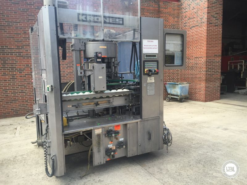 Used Automatic Decapper Krones 10 heads year 1998 - 1