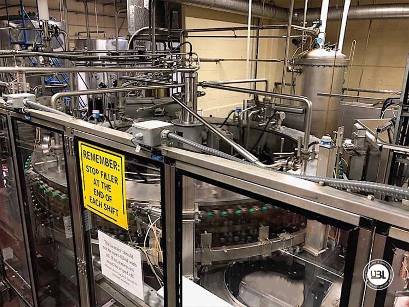 Used Bottling Krones Can Isobaric Filling Machine with Angelus Seamer 100 valves for 40.000 can per hour - 2