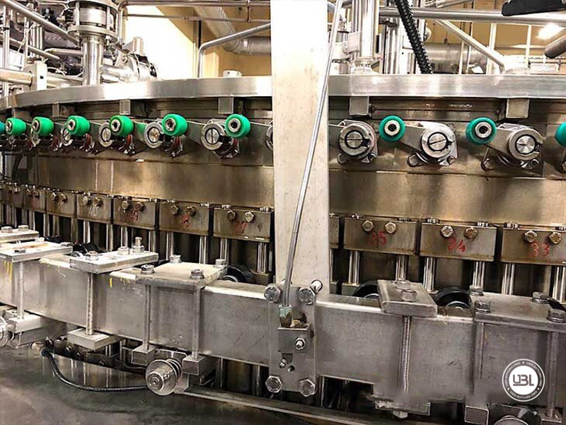 Used Bottling Krones Can Isobaric Filling Machine with Angelus Seamer 100 valves for 40.000 can per hour - 4