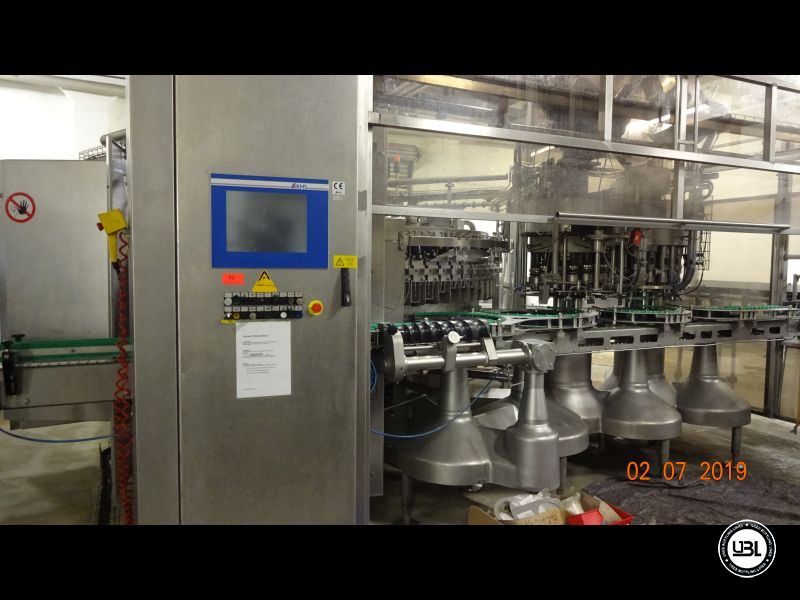 Used Isobaric Filling Machine KHS Innofill-DRS-VF 80/15KK/15SV up to 32.000 bph - 1
