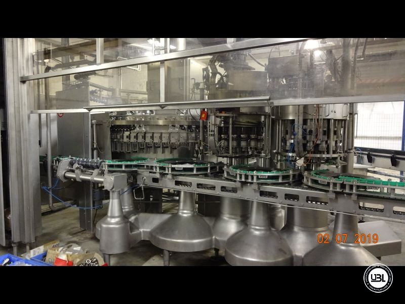 Used Isobaric Filling Machine KHS Innofill-DRS-VF 80/15KK/15SV up to 32.000 bph - 2