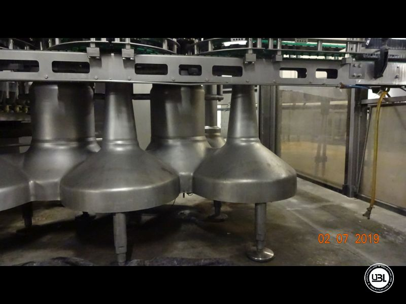 Used Isobaric Filling Machine KHS Innofill-DRS-VF 80/15KK/15SV up to 32.000 bph - 4