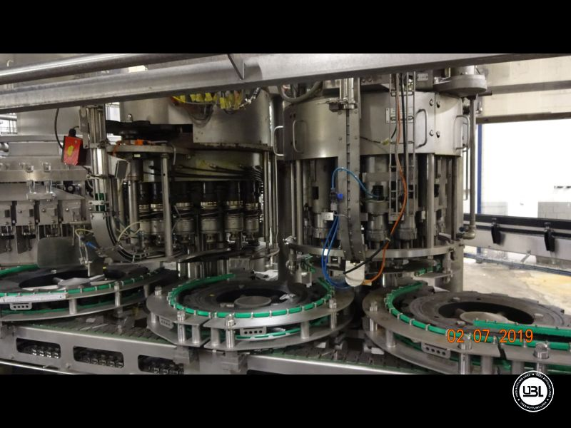 Used Isobaric Filling Machine KHS Innofill-DRS-VF 80/15KK/15SV up to 32.000 bph - 6