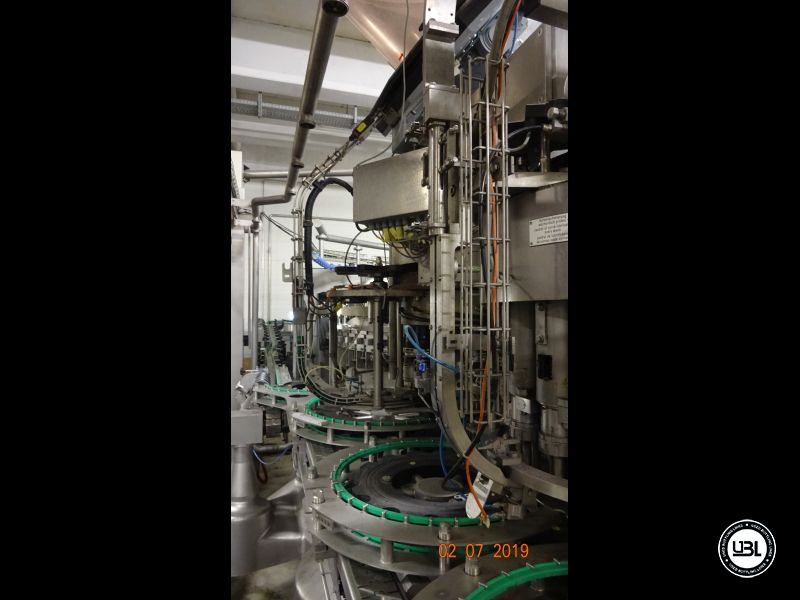Used Isobaric Filling Machine KHS Innofill-DRS-VF 80/15KK/15SV up to 32.000 bph - 7