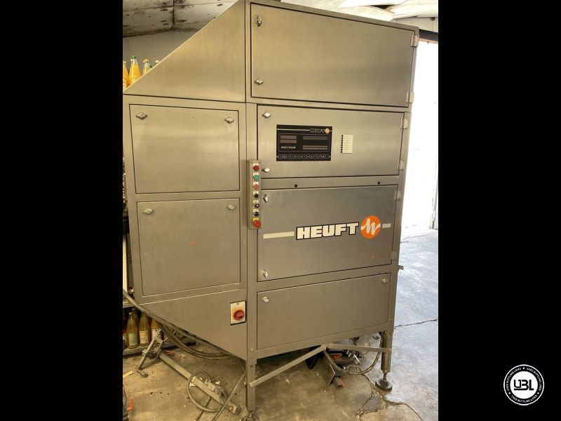 Used empty bottle inspector brand Heuft model Spectrum BFS 24 speed 20.000BPH year 1998 - 1