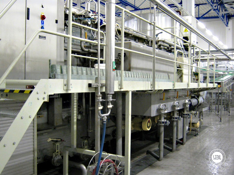 Used Bottle Washer Krones Lavatec KES-2-2-356-40-80 up to 64000 bph year 1998 - 5
