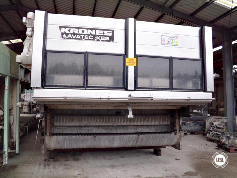 Used Bottle Washer Krones Lavatec KES-2-2-356-40-80 up to 64000 bph year 1998 - 6