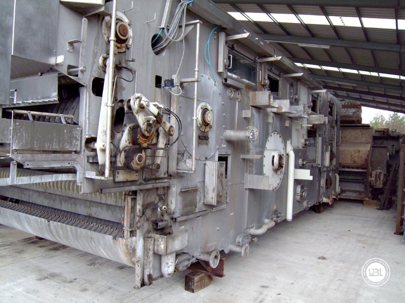 Used Bottle Washer Krones Lavatec KES-2-2-356-40-80 up to 64000 bph year 1998 - 8