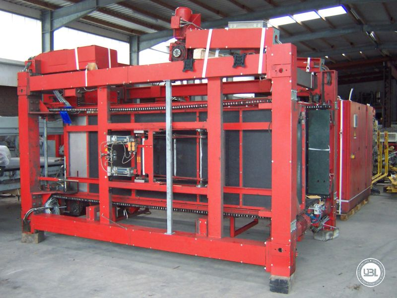 Used Automatic Empty Can Depalletizer Kettner Pressant 300 – 430 layer/hour Year 1992 - 1
