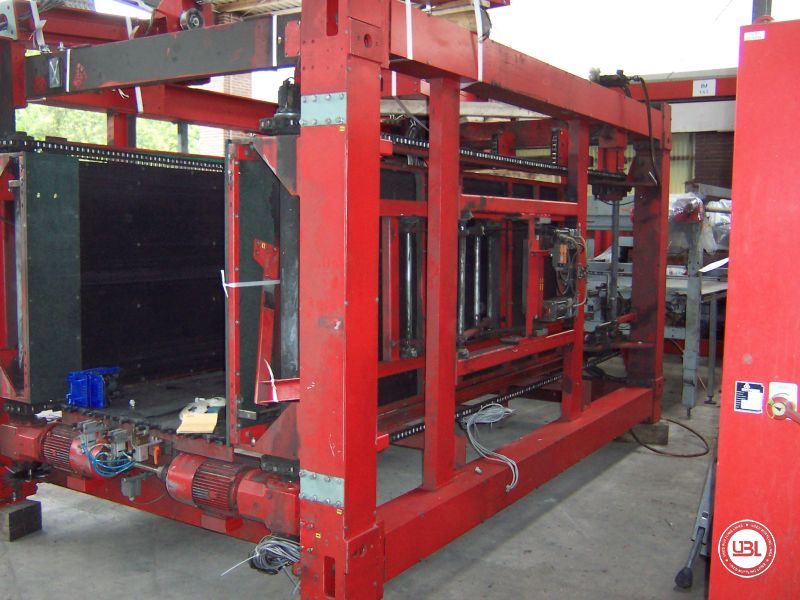 Used Automatic Empty Can Depalletizer Kettner Pressant 300 – 430 layer/hour Year 1992 - 2