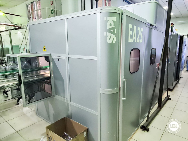 Soffiatrice rotativa usata per preforme in PET Siapi EA2S 5 Cavità anno 2011 3L – 5L fino a 3500 bph - 1