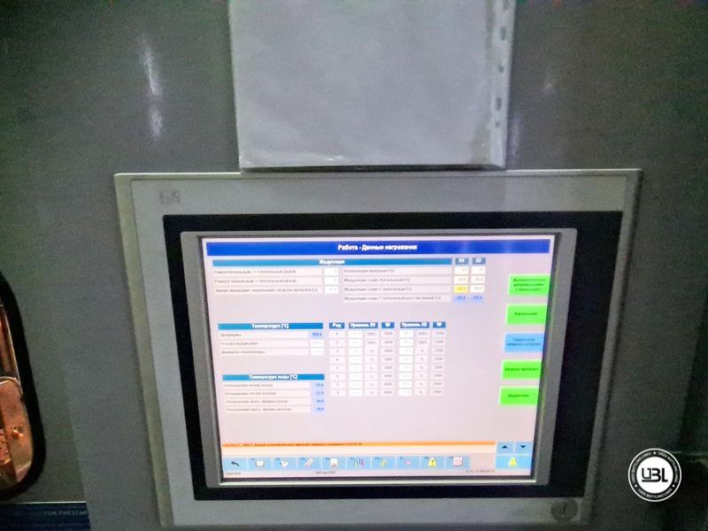 Soffiatrice rotativa usata per preforme in PET Siapi EA2S 5 Cavità anno 2011 3L – 5L fino a 3500 bph - 10