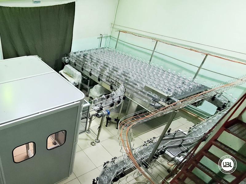 Soffiatrice rotativa usata per preforme in PET Siapi EA2S 5 Cavità anno 2011 3L – 5L fino a 3500 bph - 5