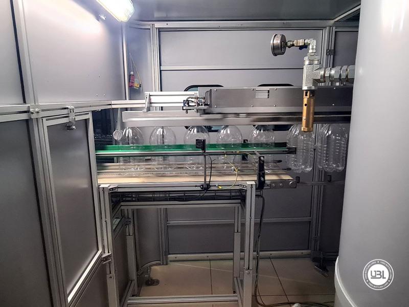 Soffiatrice rotativa usata per preforme in PET Siapi EA2S 5 Cavità anno 2011 3L – 5L fino a 3500 bph - 8