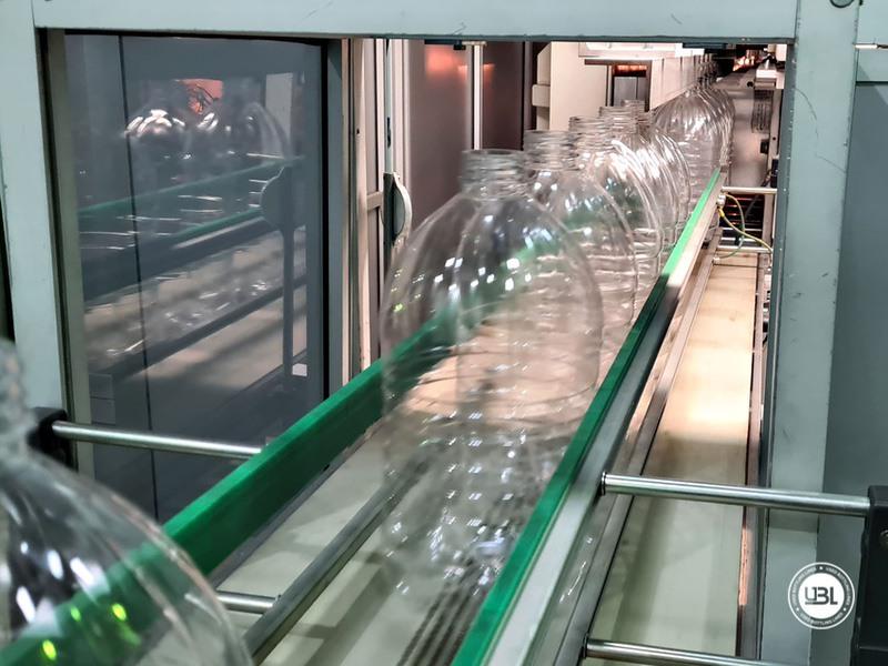 Soffiatrice rotativa usata per preforme in PET Siapi EA2S 5 Cavità anno 2011 3L – 5L fino a 3500 bph - 9