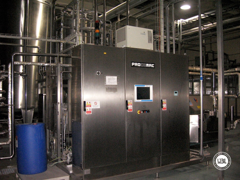 Used Aseptic PET Filling Bottling Complete Line for Still and Carbonated Drinks year 2005 up to 18.000 bph - 12