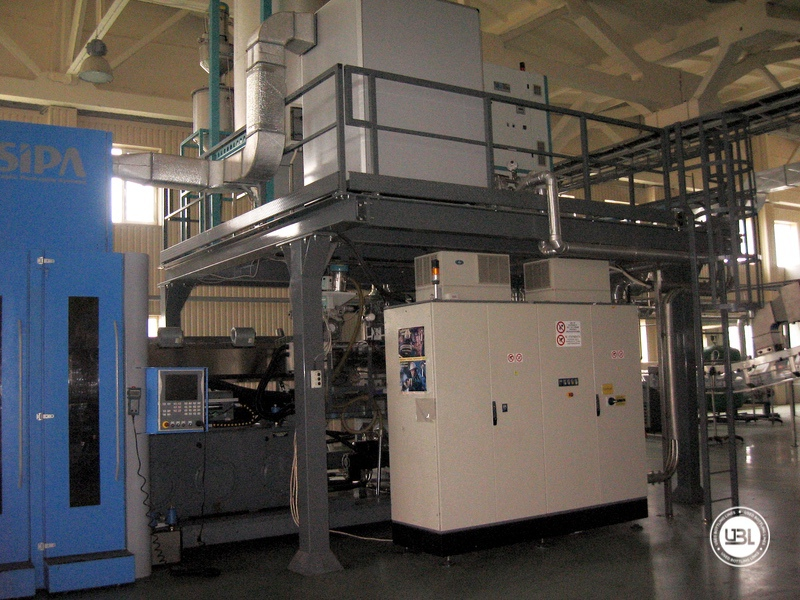 Used Aseptic PET Filling Bottling Complete Line for Still and Carbonated Drinks year 2005 up to 18.000 bph - 2