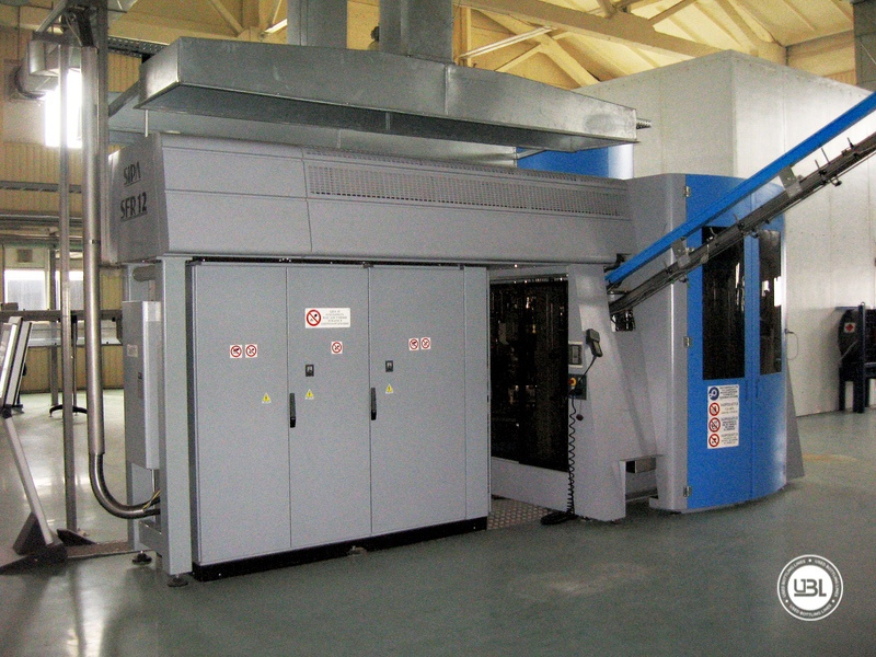 Used Aseptic PET Filling Bottling Complete Line for Still and Carbonated Drinks year 2005 up to 18.000 bph - 6