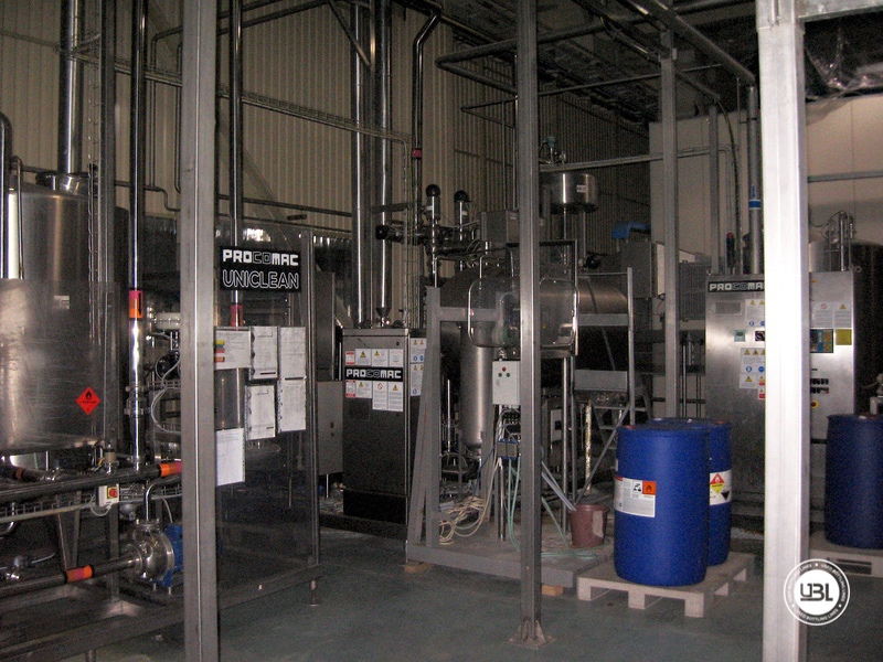 Used Aseptic PET Filling Bottling Complete Line for Still and Carbonated Drinks year 2005 up to 18.000 bph - 9