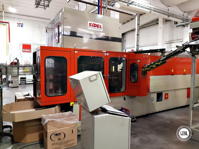 Used Rotary Blow Moulding Machine Sidel SBO 10 Series 1 12.000 bph - 1