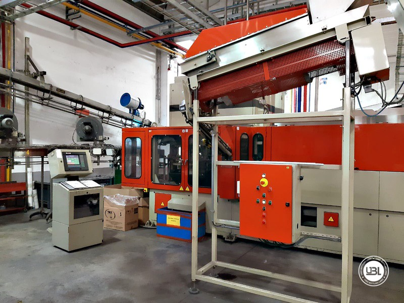 Used Rotary Blow Moulding Machine Sidel SBO 10 Series 1 12.000 bph - 2