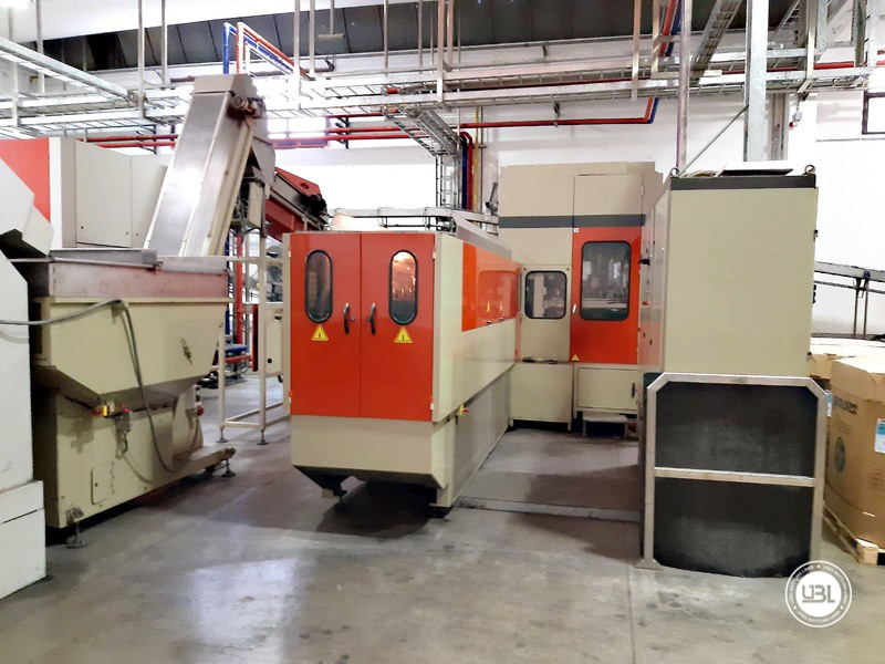Used Rotary Blow Moulding Machine Sidel SBO 10 Series 1 12.000 bph - 3