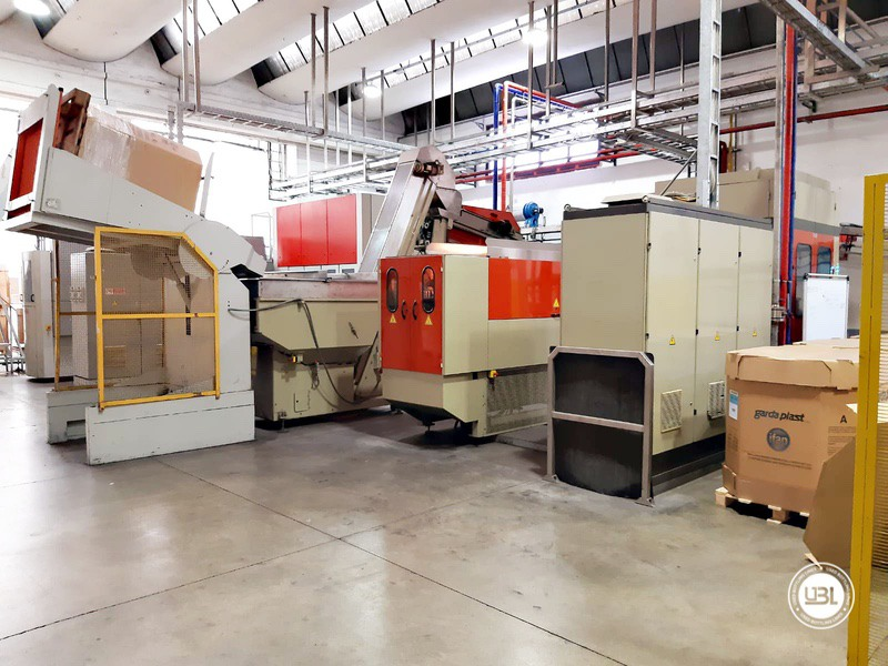 Used Rotary Blow Moulding Machine Sidel SBO 10 Series 1 12.000 bph - 4