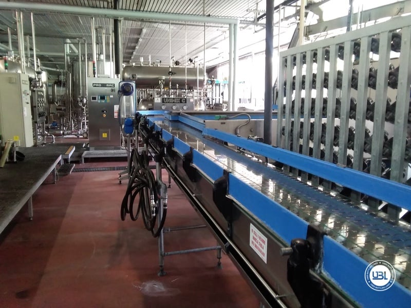 Used Complete Water Line for Returnable Glass up to 17.000 bph - 17