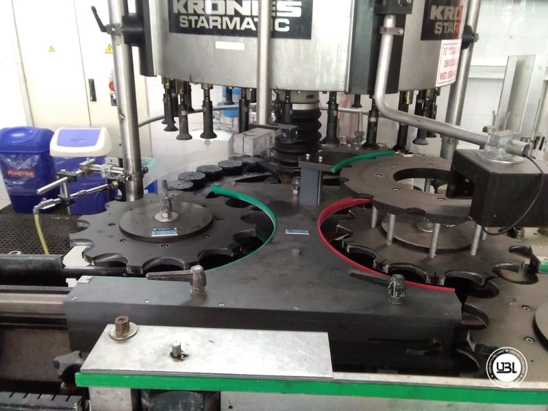 Used Complete Water Line for Returnable Glass up to 17.000 bph - 18